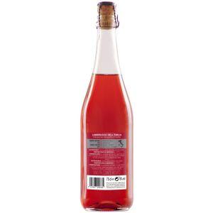 Vino lambrusco rosado love italy bot 75cl