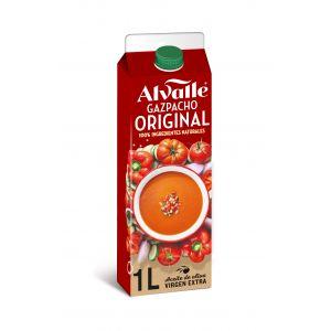 Gazpacho refrigerado alvalle 1l
