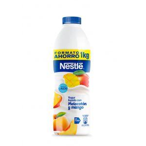 Yogur líquido melocotón y mango nestle 1kg