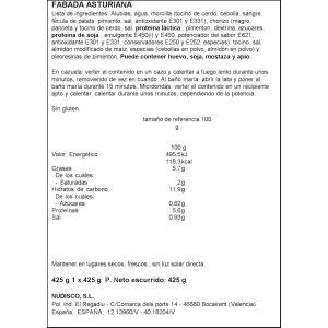Fabada asturiana diamir 435g