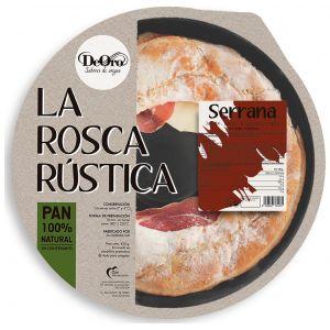 Rosca rustica jamon bacon queso deoro 480 gr