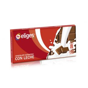 Chocolate con leche extrafino  ifa eliges  150g