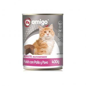 Comida gato pollo ifa amigo 400g