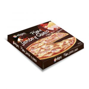 Pizza jamon y queso ifa eliges  340g