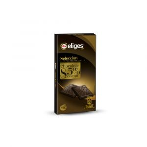 Chocolate negro 85%cacao ifa eliges 100gr