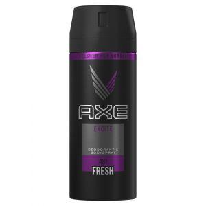 Bodyspray excite axe 150ml
