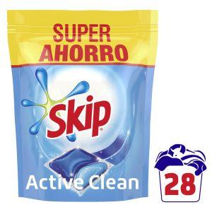 Skip detergente active clean capsulas 28 dosis