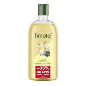 Champú reflejos dorados timotei 400 ml