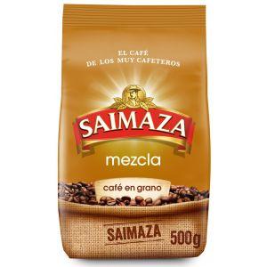 Cafe grano mezcla saimaza 500gr