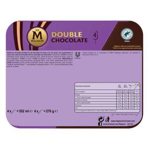 Helado magnum doble chocolate frigo p3x88ml
