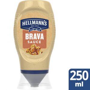 Salsa brava hellmanns pet 250ml