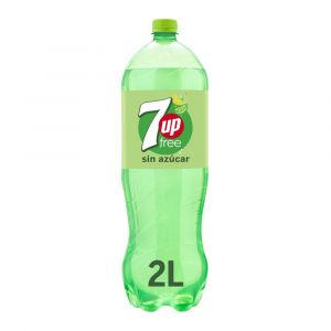 Refresco free lima-limon seven up pet 2l