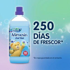 Suavizante concentrado azul vital mimosín 60ds 1,2l