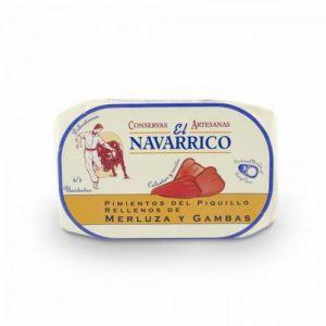Pimientos rellenos merluza/gamba el navarrico 260 gr