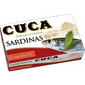 Sardinas escabeche cuca rr-125 120gne