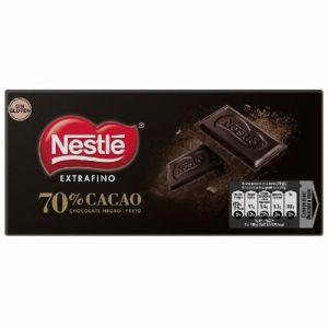 Chocolate negro 70% nestle dark 120g