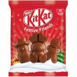 Chocolate festive friends kit kat 65gr