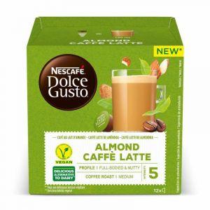 Cafe leche almendra dolce gusto 12 cap