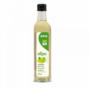 Vinagre de vino blanco ecológico ifa eliges 500ml