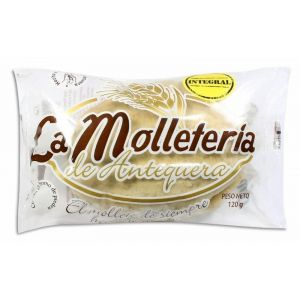 Mollete mediano integral la molleteria pack-2 120 gr