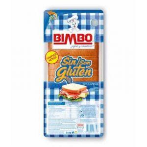 Pan sin gluten blanco bimbo 300gr