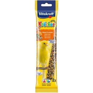 Barrita para canarios con miel vitakraft 60g