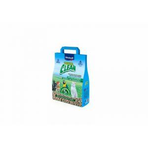 Lecho higiénico para mascotas vegetal clean vitakraft 5l