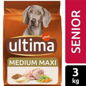 Comida perro senior ultima 3k