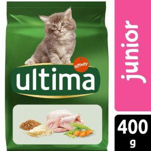 Comida gato junior ultima 400g