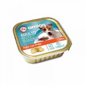 Comida perro razas pequeñas  ifa amigo tarrina 150g