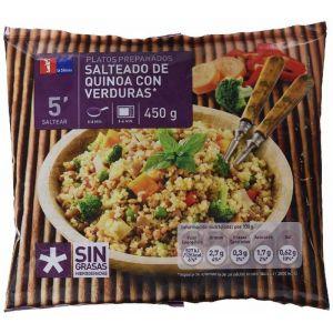 Salteado quinioa verdura la sirena 450g