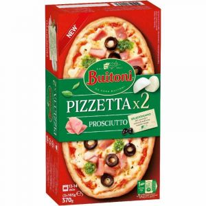 Pizzeta prosciutto buitoni pack-2x 185gr
