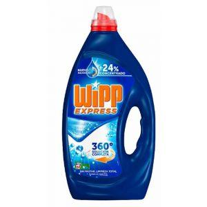 Detergente líquido azul wipp 66 dosis 3,2 litros