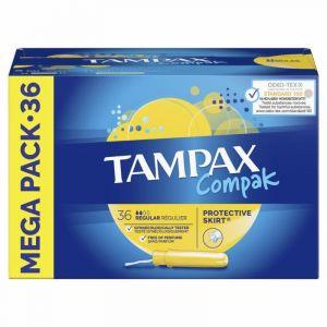 Tampon regular compak tampax 36ud