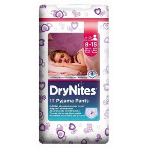 Pañal niña 8-15años dry nites convenience 9 ud