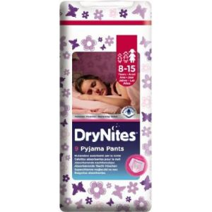 Pañal niño 8-15años dry nites convenience 9 ud