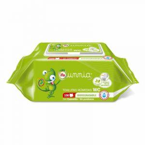 Toallitas húmedas infantiles con tapa ifa unnia 100 unidades