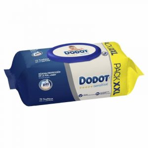 Toallitas sensitive dodot 72 uds