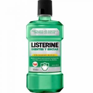 Enjuague bucal dientes y encias listerine 500ml
