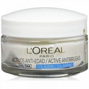 Crema facial antiedad wrinkle expert colágeno loreal +35 50ml