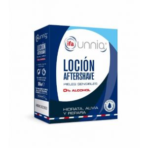 Locion aftershave alcohol 0% ifa unnia cristal 100 ml