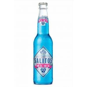 Cerveza salitos blue botella 33cl