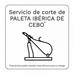 Servicio corte paleta iberica cebo