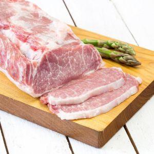 Lomo de cerdo ibérico fresco