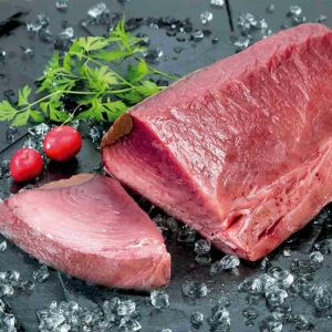 Lomo de atún fresco recien ronqueado