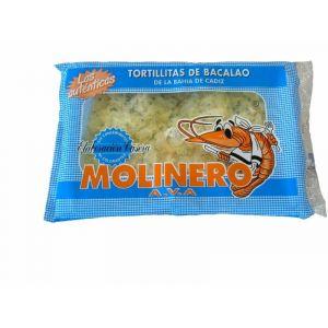Tortillitas bacalo molinero 500gr