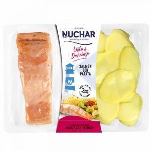 Salmon con  patata cocina nuchar bdj 250gr
