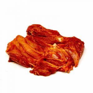Churrasco de pollo rojo