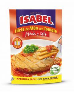 Filetes de atun con tomate isabel 150g