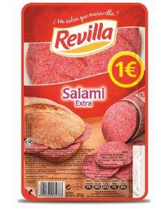 Salami extra revilla lonchas 85 gr